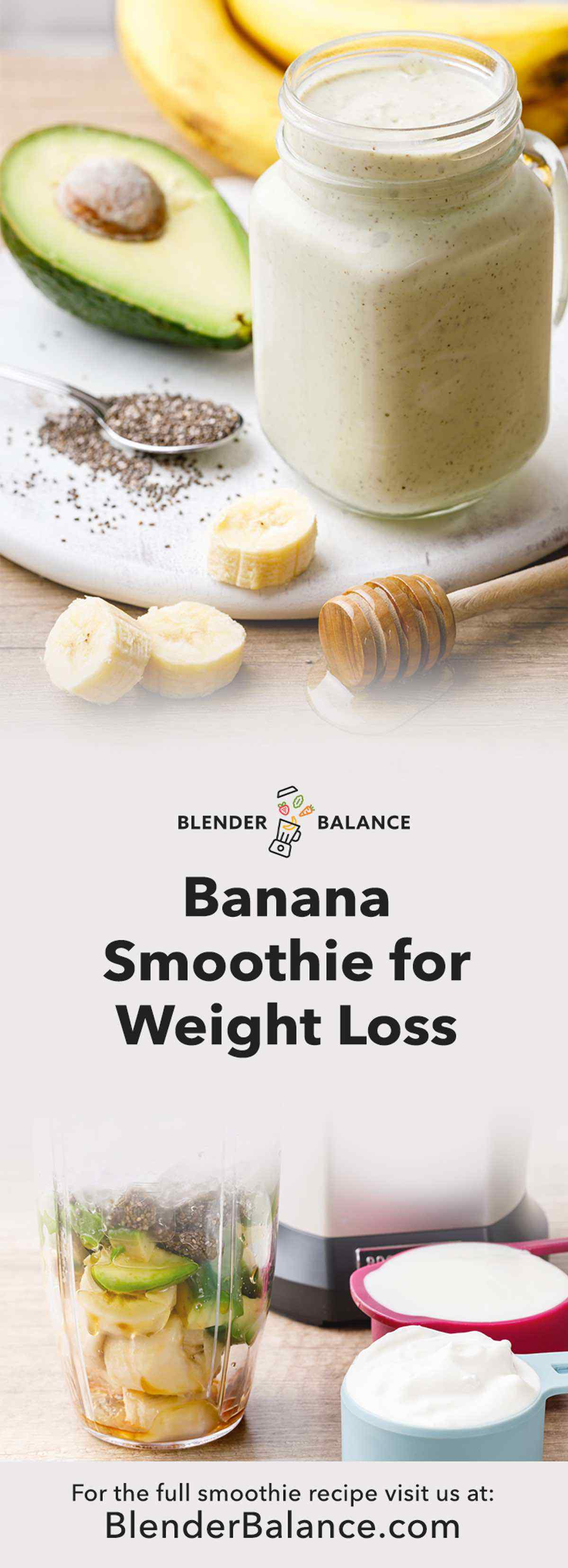 Banana Smoothie Recipe for Weight Loss