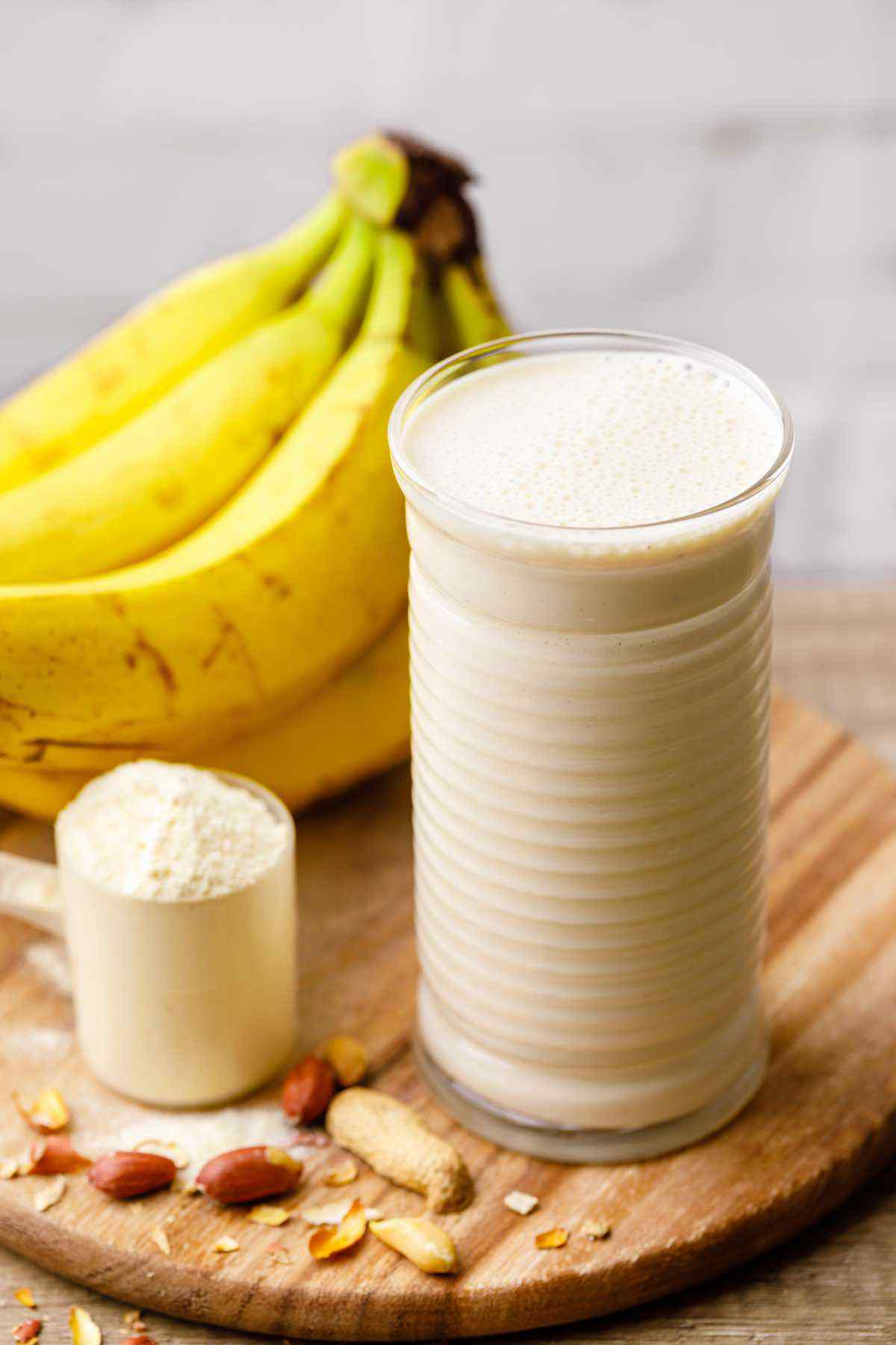 Peanut Butter Banana Protein Smoothie Recipe