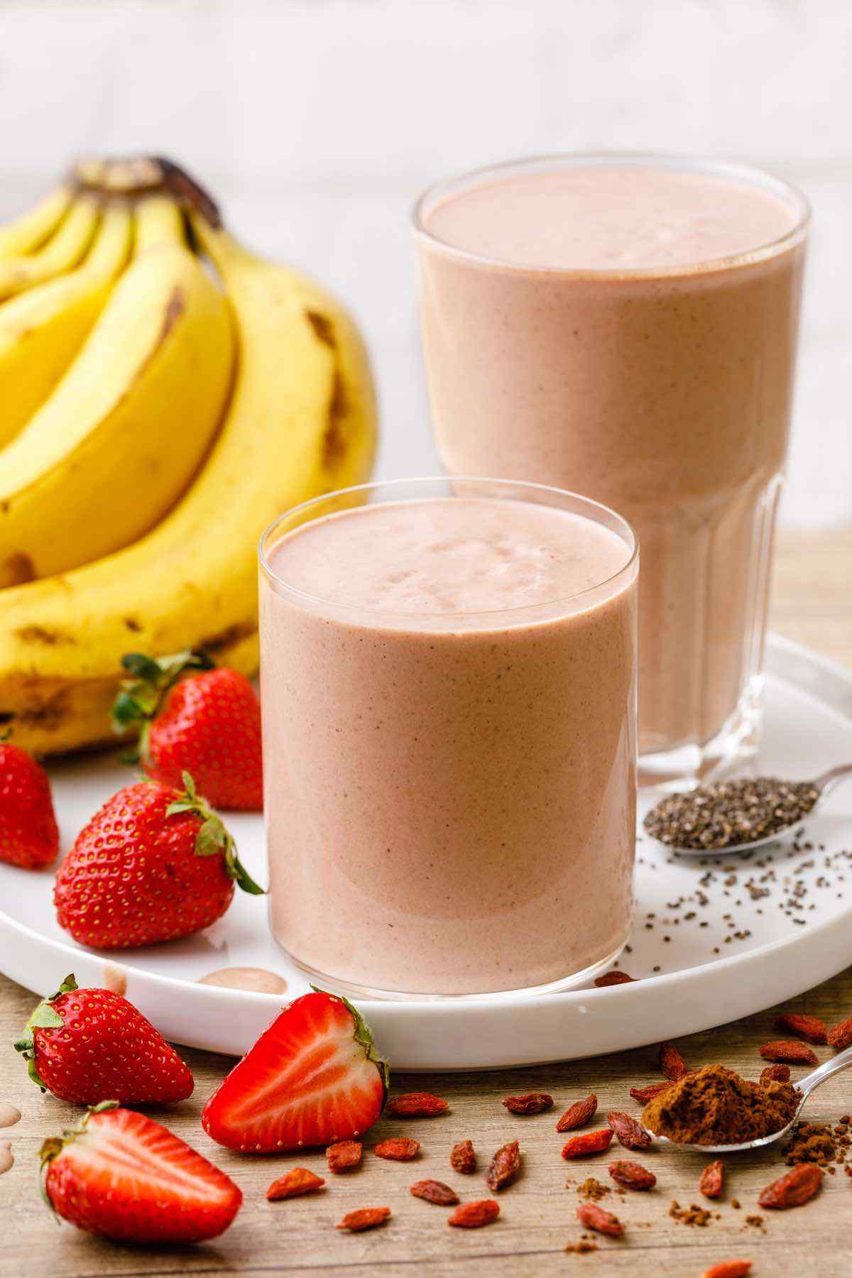 Chocolate Strawberry Weight Loss Smoothie