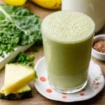 Kale Banana Smoothie for Breakfast on the Go