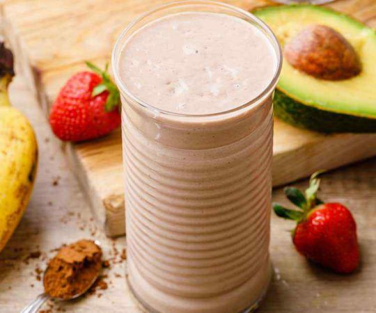 Paleo Strawberry Smoothie