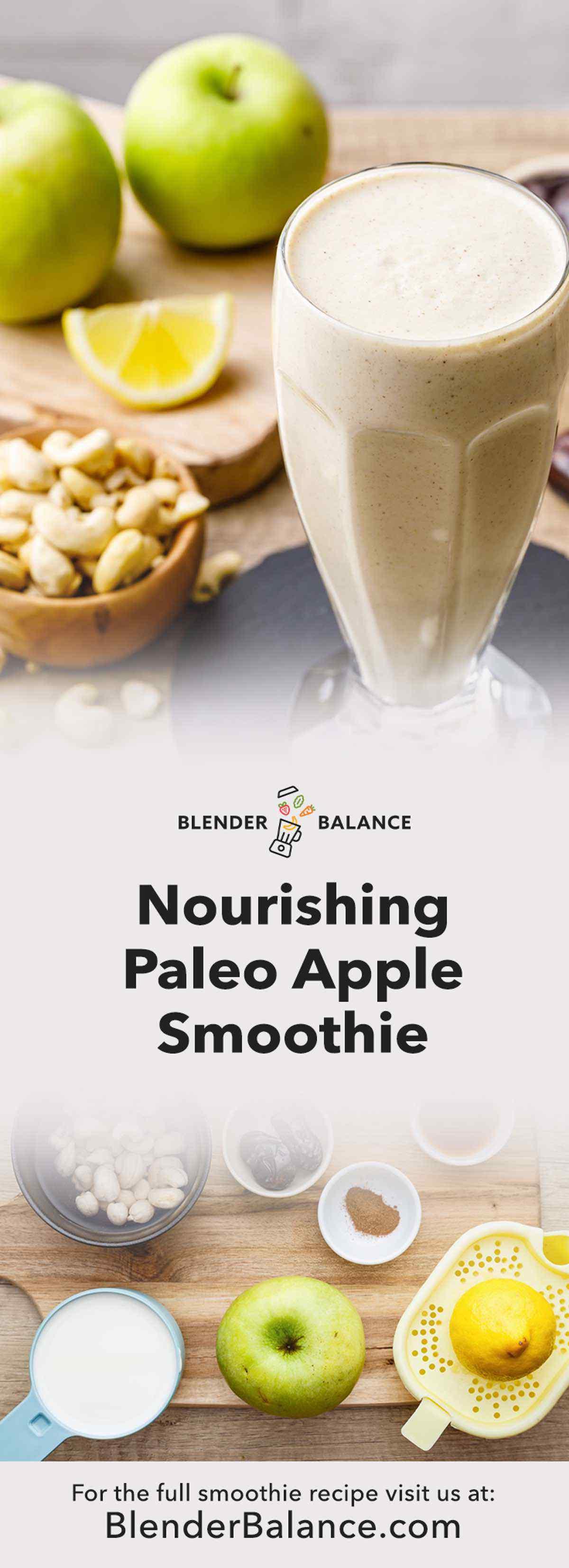 Apple Paleo Smoothie