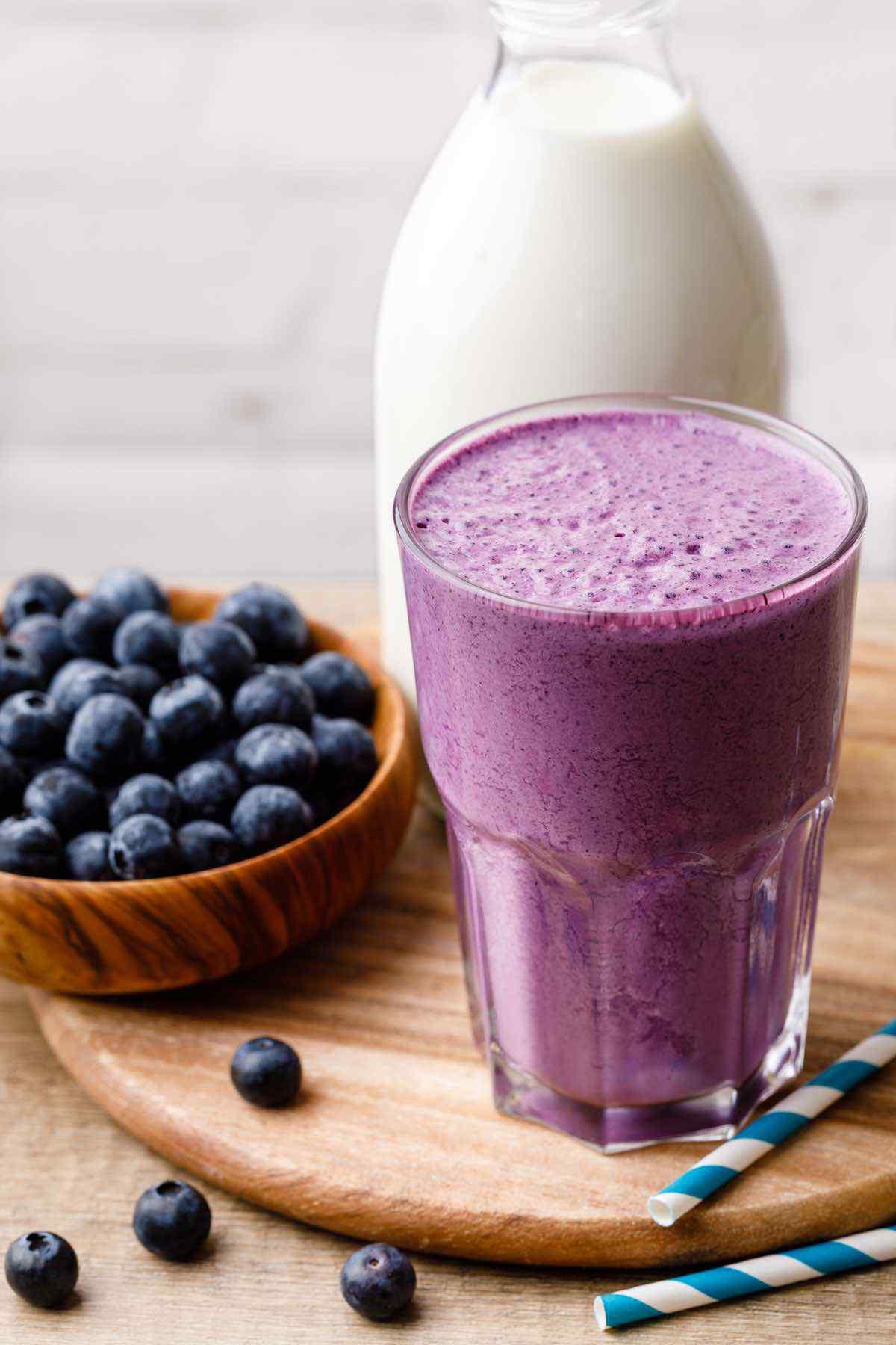 Blueberry Protein Smoothie Recipe