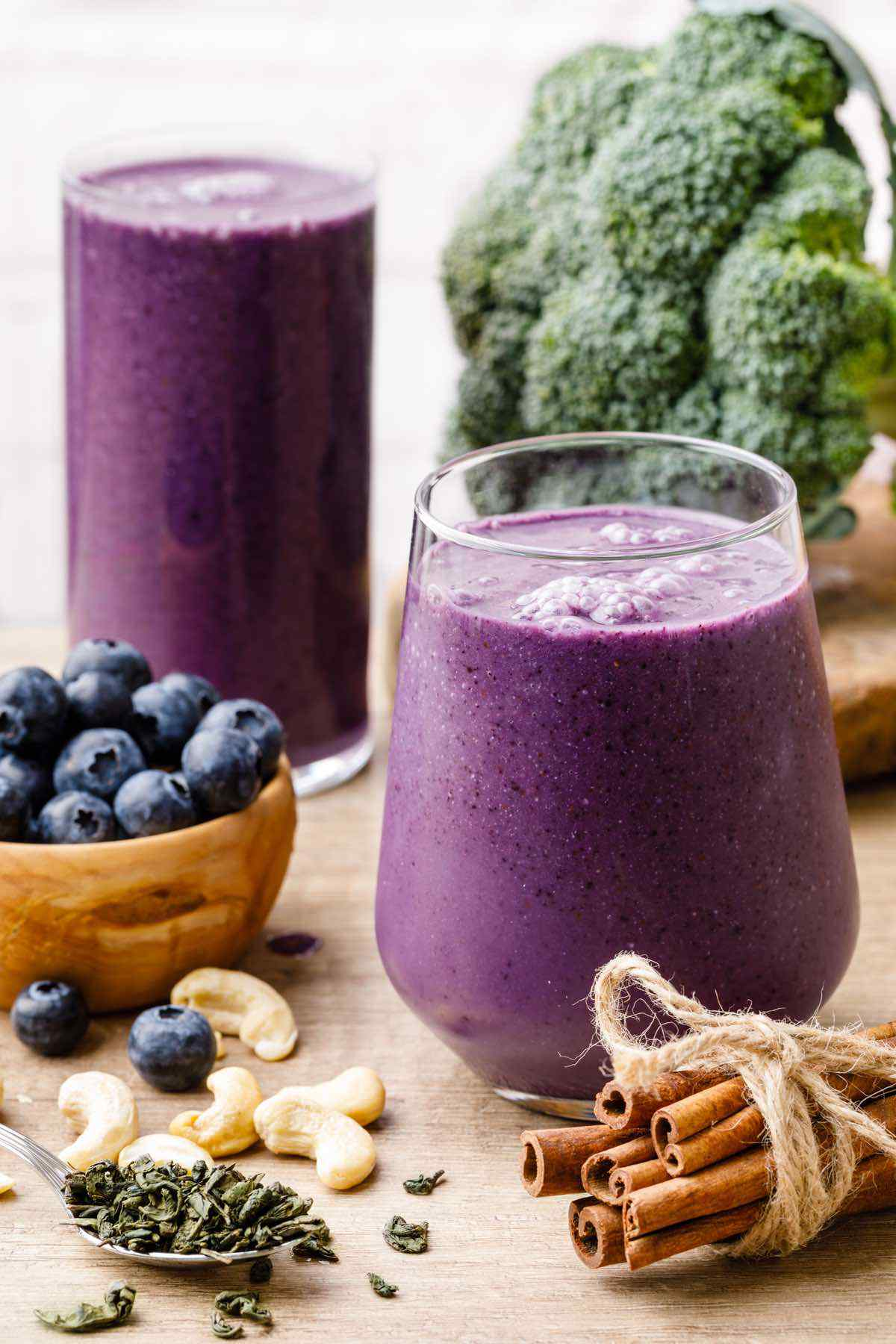 Paleo Blueberry Smoothie