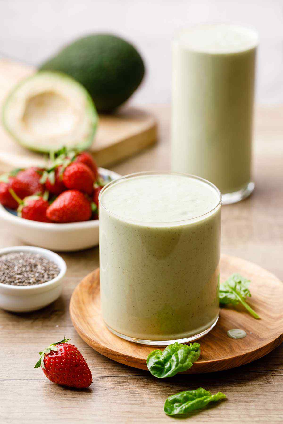 Spinach Smoothie for Weight Loss