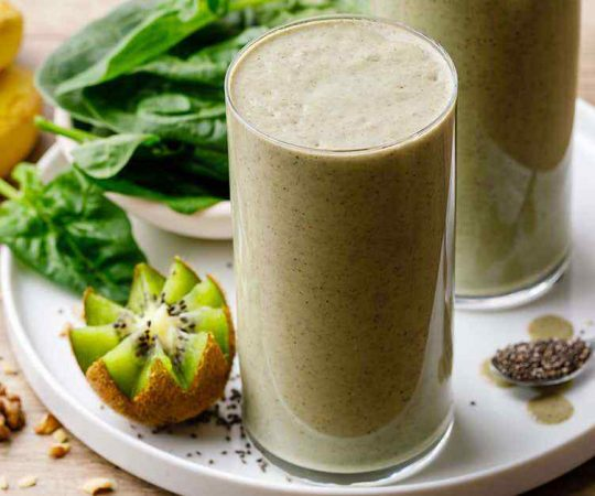 Easy 5-Minute Spinach Smoothie