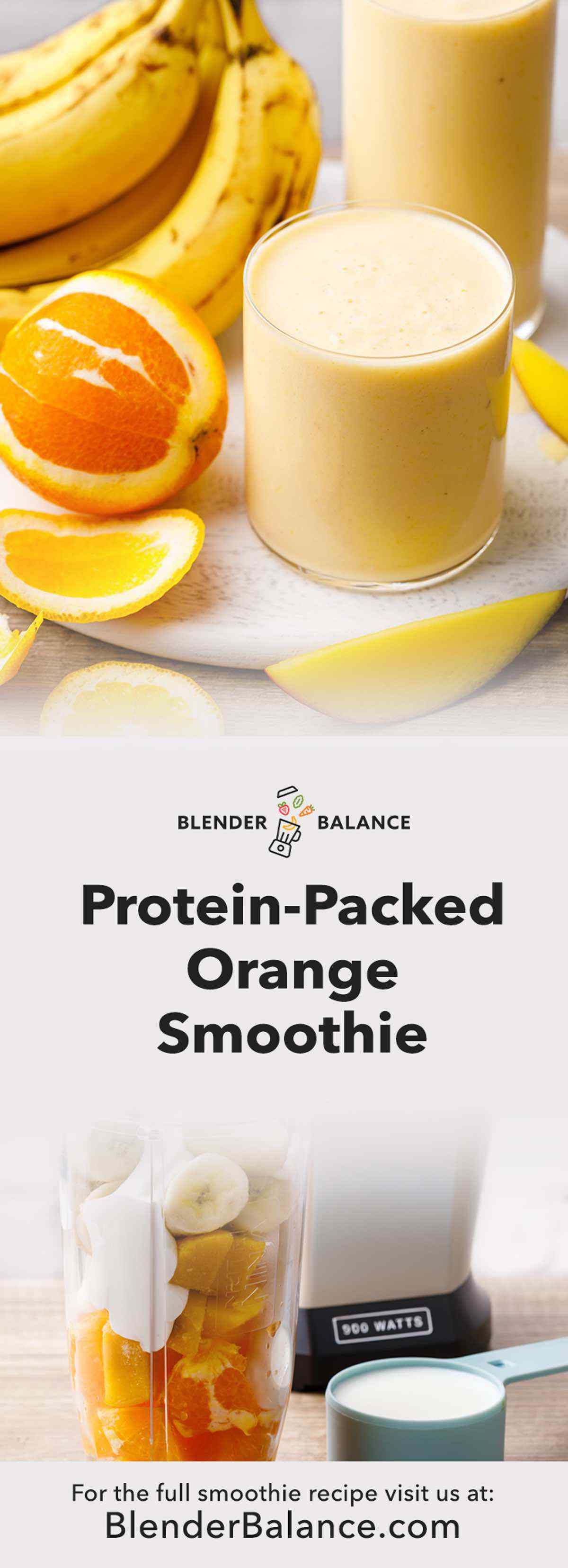 Orange Protein Smoothie
