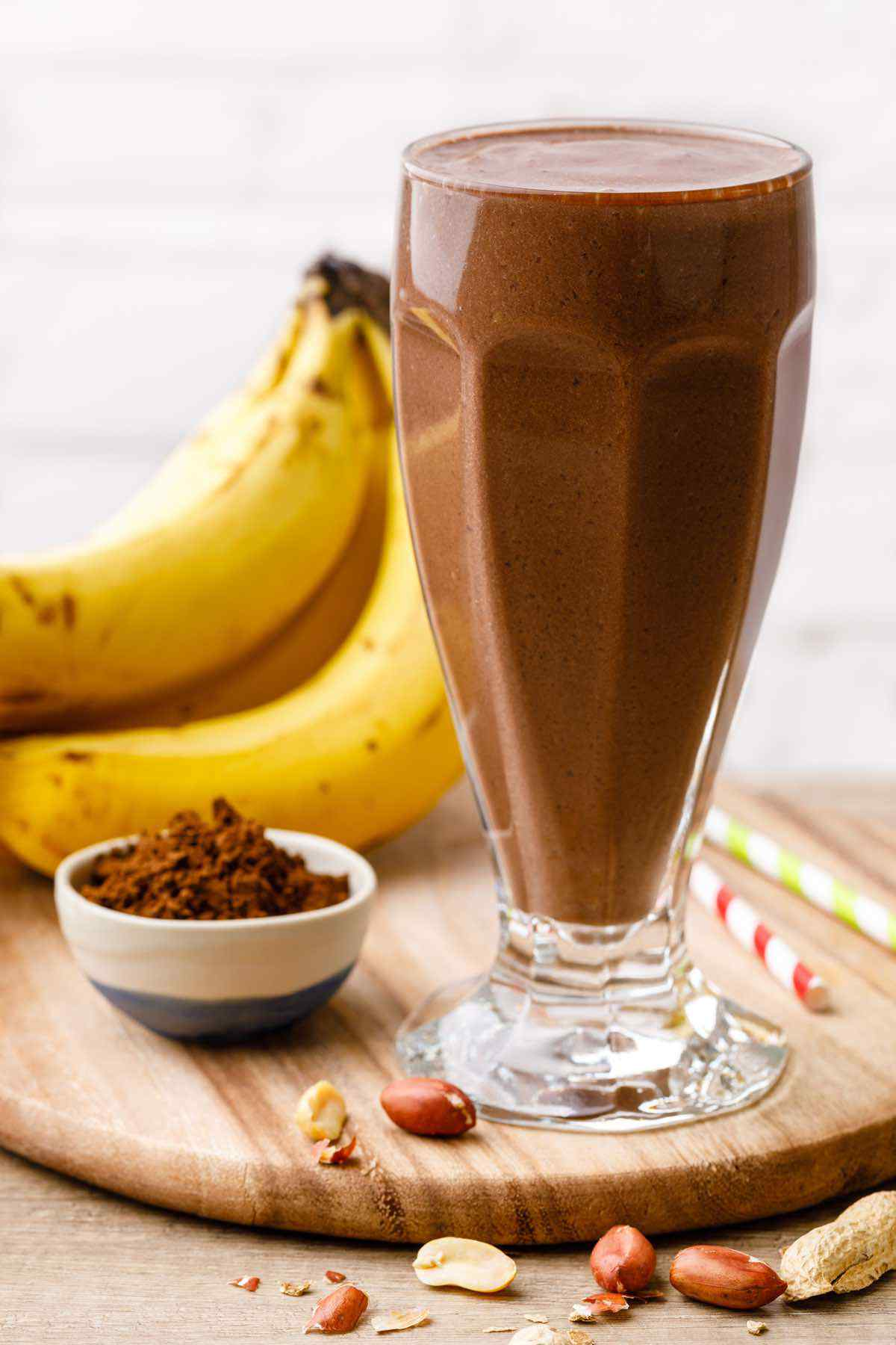 Easy 4-Ingredient Chocolate Smoothie