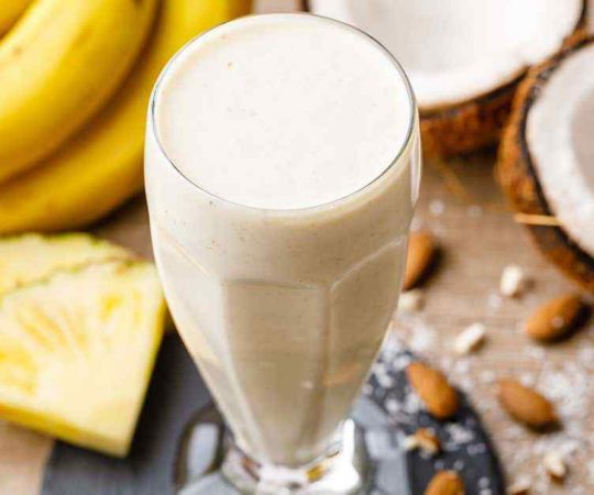 Pina Colada Pineapple Protein Smoothie
