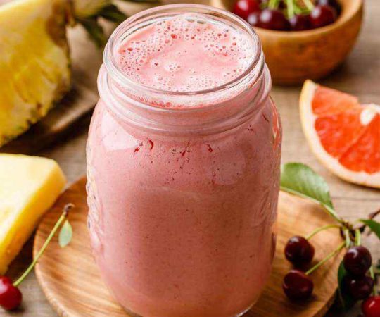 Coconut Oil Pineapple Smoothie for Weight Loss