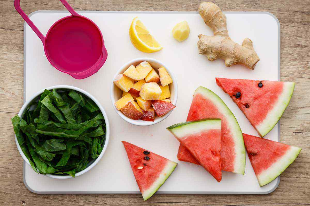 Watermelon Green Smoothie